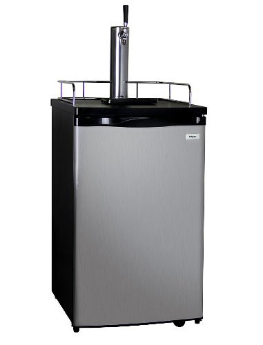 Single Tap Kegerator with Expert Installation